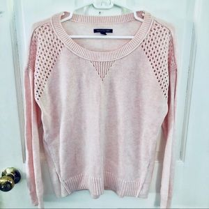🎀AMERICAN EAGLE🎀PINK SWEATER